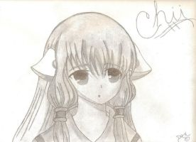 Chii from chobits-shaded by Dark-bliss
