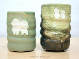 Kodama cups short and tall by skimlines