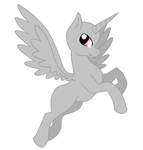 Male Alicorn Base 1 by Calibaby11001