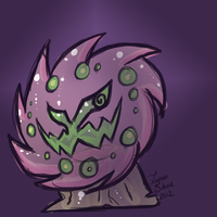 Spiritomb by LupusSilvae