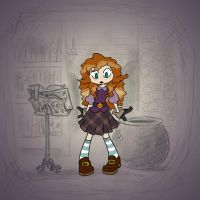 Angela's Magic Lesson - Kilted by Mr-DNA