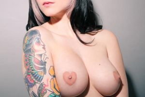 Nikki Love Heart Nipples by DavidKanePhotography