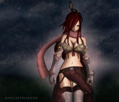 Knightwalker first version by Gray-Fullbuster