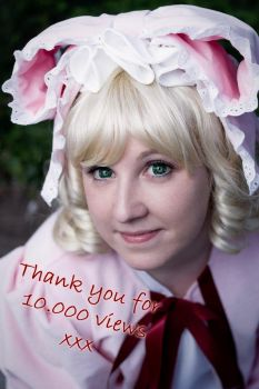 Thank you for 10.000 views by NettyCosplay