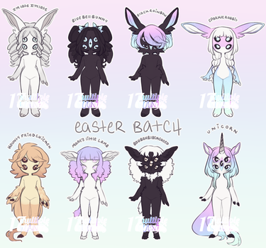 NUES   easter batch (closed) by multiple-wounds
