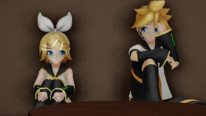 MMD - Can I stay alone with you? by Ayumichigolove