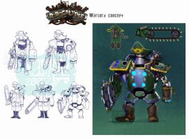 robocalypse: warlord by Vamp1r0