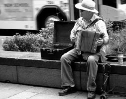 Street Music II by thorshammerthor