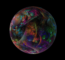 Abstract Sphere by Alvenka