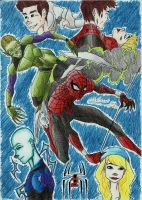 the Amazing Spider-Man 2 by Hlontro