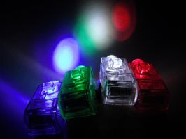 finger lights by mysteriousfantasy