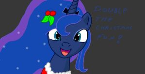christmas pony 1 luna by dutch-brony