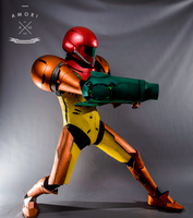 Samus Cosplay - Aim (Full Body) by d-slim