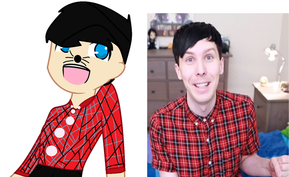 My Halloween Costume as Phil Lester by amazingphan24