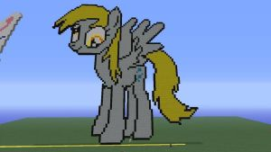 Derpy hooves pixel art!! by Phot0pon3