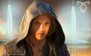 Jace Herondale in Alicante, Idris by Cilaville