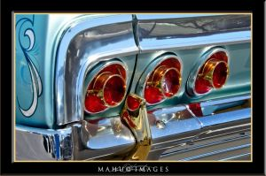 64 Impala Gold Trim Taillights by mahu54