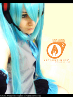 Vocaloid miku cosplay by Team66cosplay