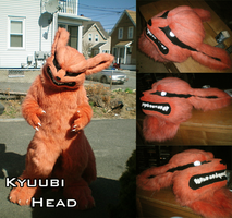 Commission - Kyuubi Head by koisnake