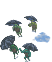 TMNT-It's about to rain again by tmask01