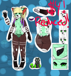 $4 Male Anthro Adopt ~CLOSED by Esarts-Adopts