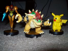 my new amiibo collection by kingdomsonic321