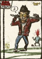Travis Touchdown by pipibonbon