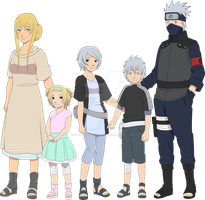 Hatake family by Zombie-scarecrow