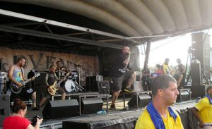The Acacia Strain Warped Tour by JameesPhotos