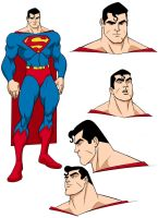 Superman designs by MBorkowski