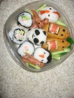 Bento Box Awesomeness by icchan-goboom