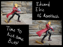 116 Revoltech: Edward Elric :1: by ShadowHunter1765