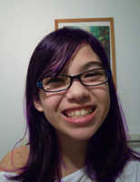 My Hair Is....PURPLE?!?!? by Ayleia-The-Kitty