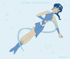 Water Warrior by Phi-sen-tea