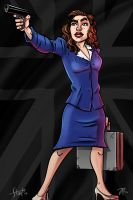 Peggy Carter by stayte-of-the-art
