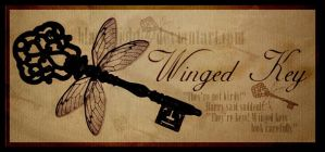 Winged Key by black2light