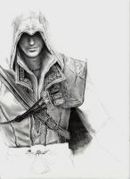Assassin's Creed Ezio - wip by MartyIsi
