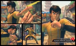 SSFIV-AE: FEI LONG KUNG-FU JUMPSUIT by Ayiep27