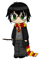 Harry Potter Chibi by PuccaNoodles2009