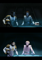 The Clone Wars Screencap - Comparison 02 by rayn44