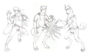 Kejital Sketches Spring '10 by Ageaus