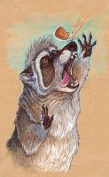 Raccoon Nugget by caramitten