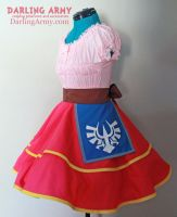 Skyward Sword Zelda Cosplay Lolita Skirt by DarlingArmy