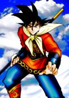 Goku - The Monkey King by channandeller