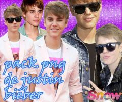 Pack PNG Justin bieber by ImSnowbieber
