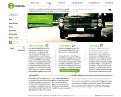 International CLEAN web design by Gwstyle