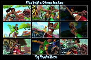 Christie Cheerleader By BrutalAce by BrutalAce