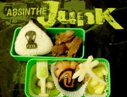 Absinthe Junk bento by mindfire3927