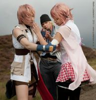How could you Serah... by Anathiell
