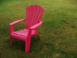 Lawn Chair 02. by Imaginationsis
